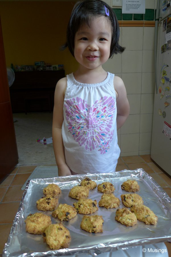 Want to try my rock cakes?