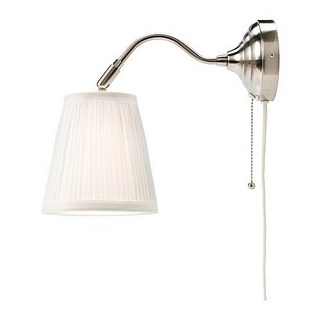 Two ÅRSTID wall-lights for our Master Bedroom, at $29.90 each.