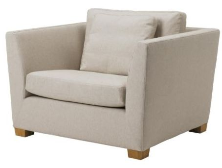 The Stockholm 1.5 Seater Gammelbo Beige color.