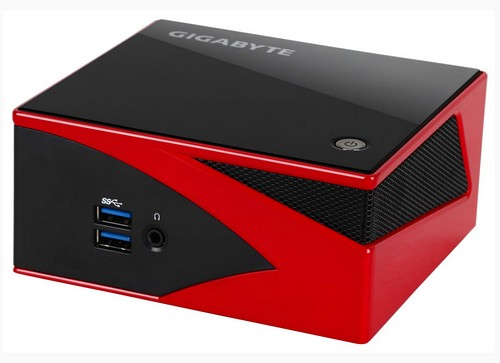 A Gigabyte Brix in  exciting red!