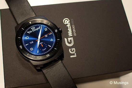 LG G Watch R - what a mouthful LOL.