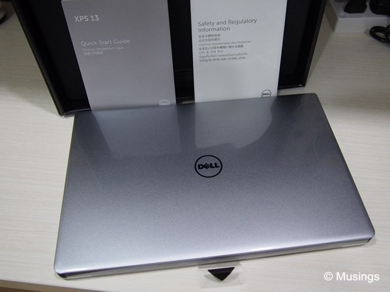 The Dell XPS 13 (2015).