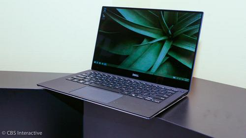 The new Dell XPS 13 (2015) with a near bezel-ess display.