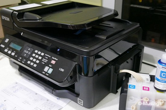 The Epson L550!