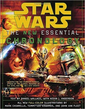 The New Essential Chronology to Star Wars, from 2005. One book that attempted to make sense of the Expanded Universe.