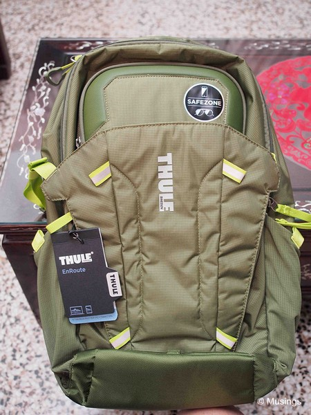 The Thule EnRoute Blur 2 Daypack/Drab colored.