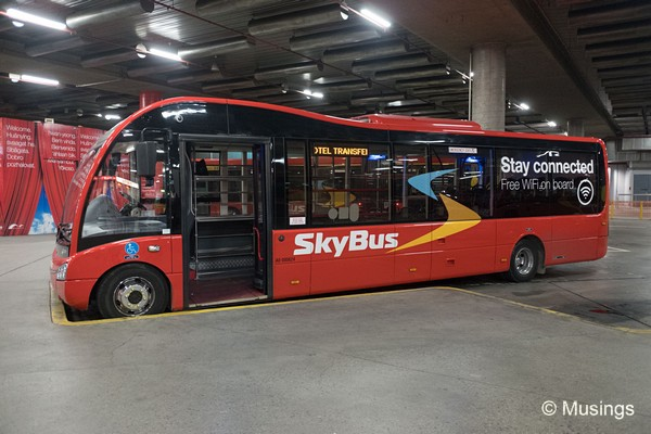 The Skybus @ Southern Cross Station.