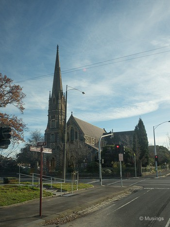 Small church in Ballarat.