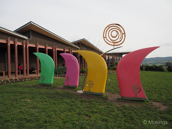The Yarra Valley Chocolaterie & Ice Creamery.