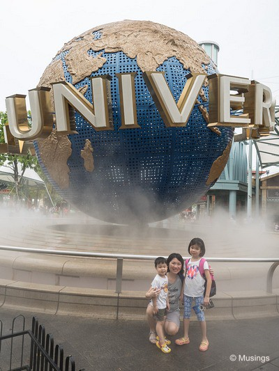 Universal Studios Singapore - we'll be back in a few years!