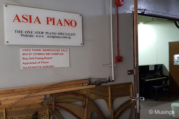 Asia Piano, opened on a public holiday.